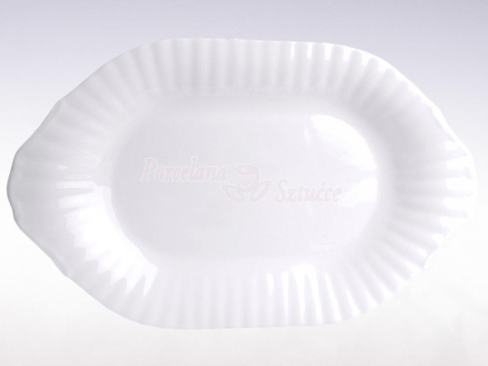 Półmisek owalny 39 Chodzież Iwona Biały C000