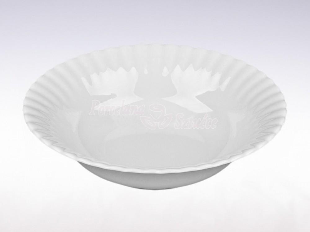 Salaterka okrągła 23 Chodzież Iwona Biały C000
