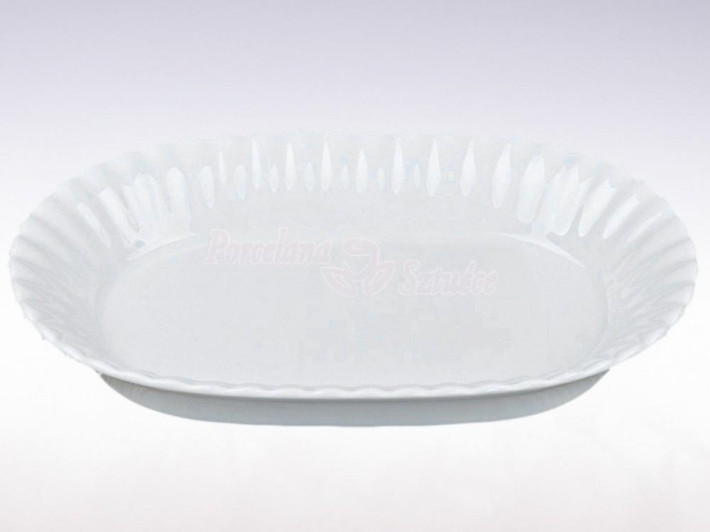 Salaterka owalna 21 Chodzież Iwona Biały C000