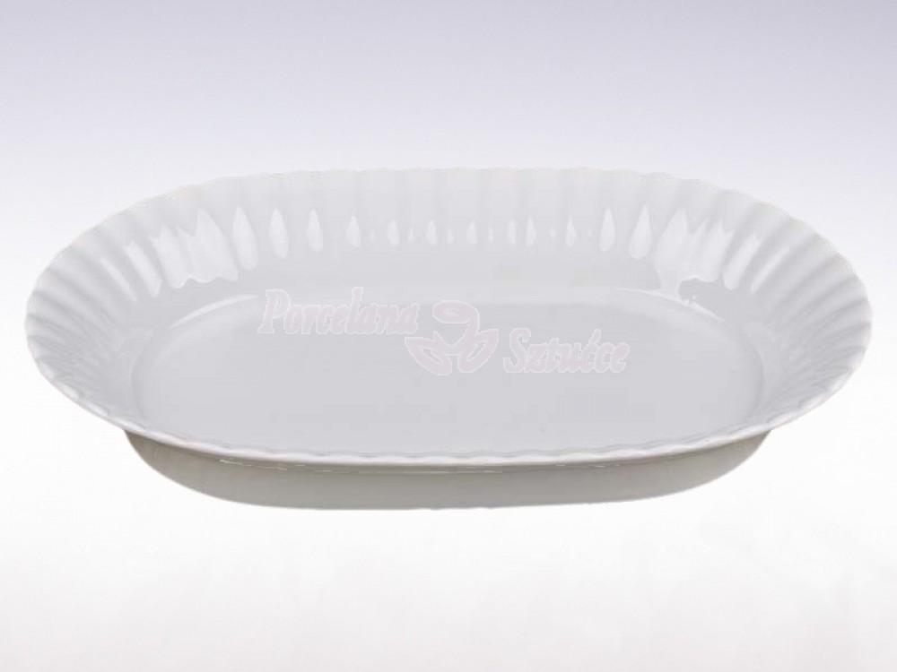 Salaterka owalna 24 Chodzież Iwona Biały C000