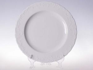 Półmisek okrągły 32 Ćmielów Rococo Biały 0001 Wzór