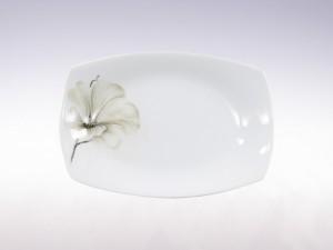 Półmisek owalny 24,5cm Ćmielów Akcent Magnolia G463