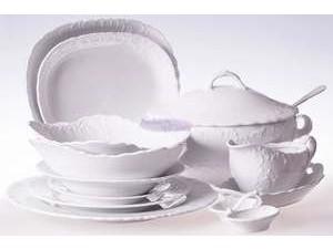 Skompletuj własny zestaw porcelany Ćmielów Rococo 0001 Biały