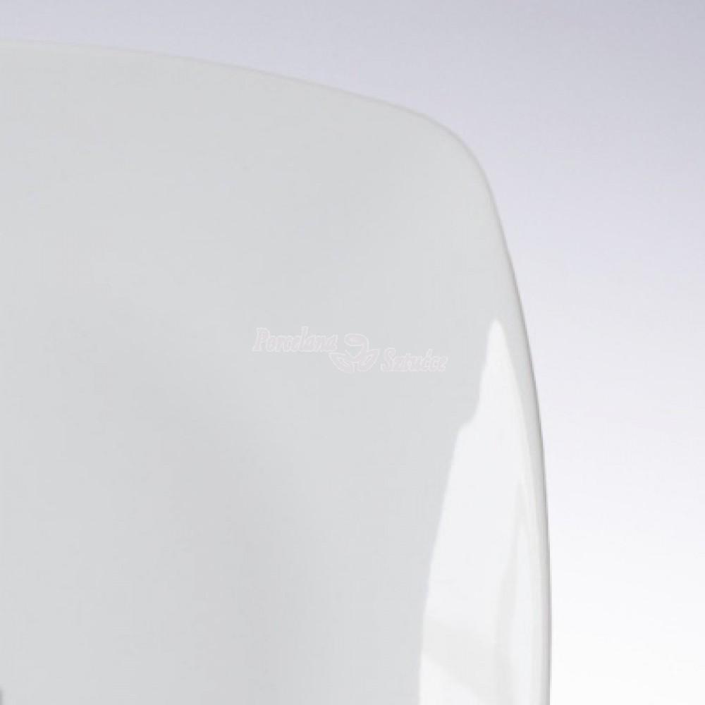Filiżanka ze spodkiem 400 Ćmielów Akcent Biały C000 Wzór