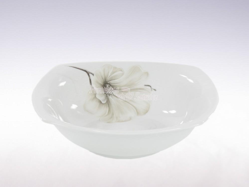 Salaterka kwadratowa 23 cm Ćmielów Akcent  Magnolia G463