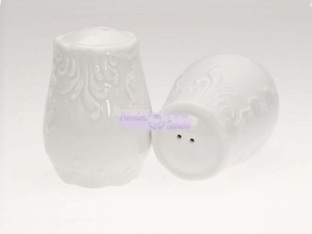 Pieprzniczka Ćmielów Rococo Biały 0001