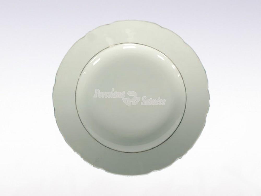 Półmisek okrągły 29 Ćmielów Feston Złoty Pasek 3604