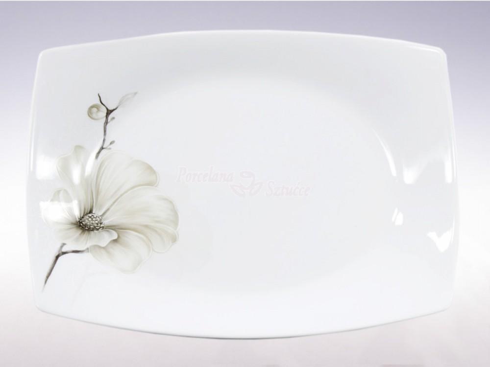 Półmisek owalny 33 cm Ćmielów Akcent  Magnolia G463
