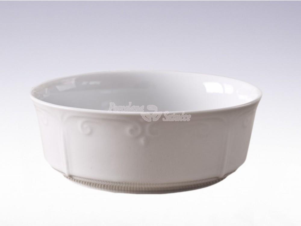 Salaterka cylindryczna 13 Chodzież Kamelia Biały C000
