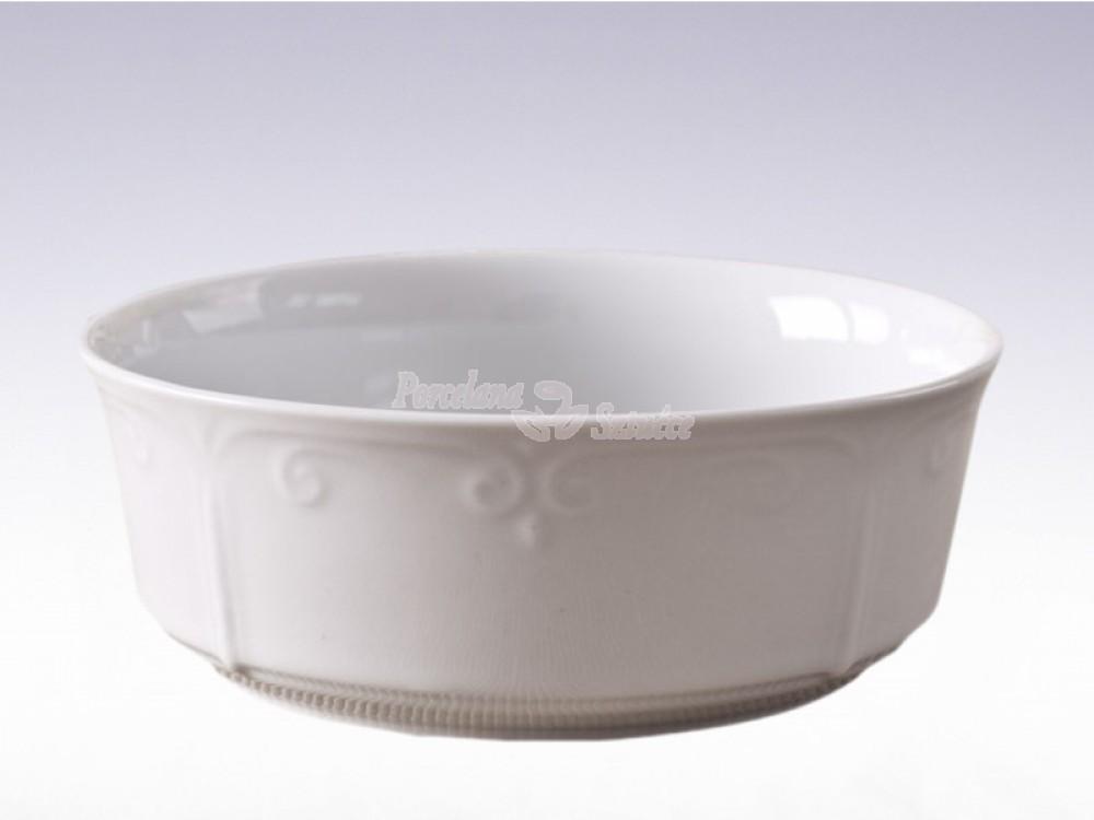 Salaterka cylindryczna 17 Chodzież Kamelia Biały C000