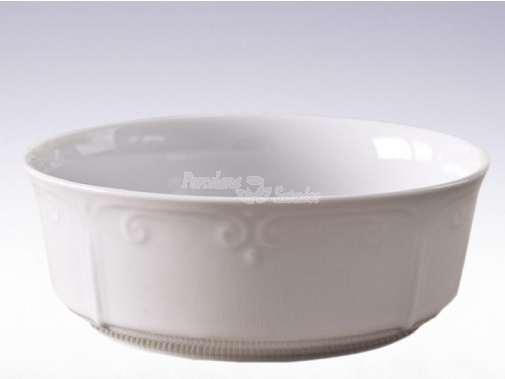 Salaterka cylindryczna 21 Chodzież Kamelia Biały C000