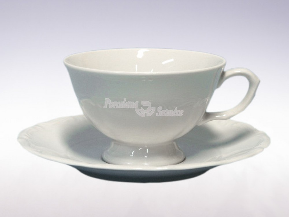 Serwis do herbaty 12 osób 39 el. Chodzież Maria Teresa Biały C000
