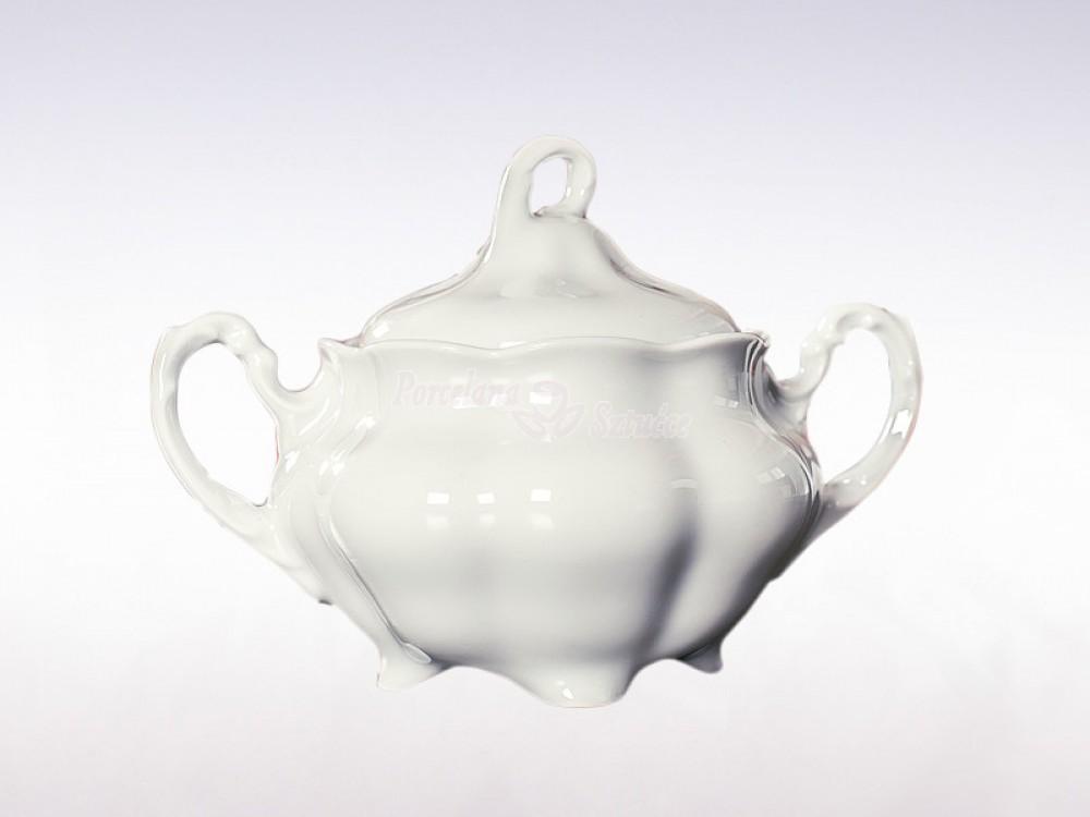 Serwis do herbaty 12 osób 39 el. 220 Ćmielów Bolero Biały 0001