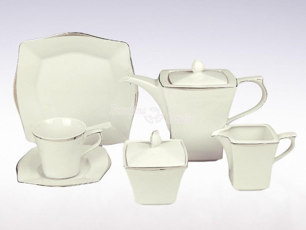 Serwis do herbaty 12 osób Ćmielów Lwów Leonia E374