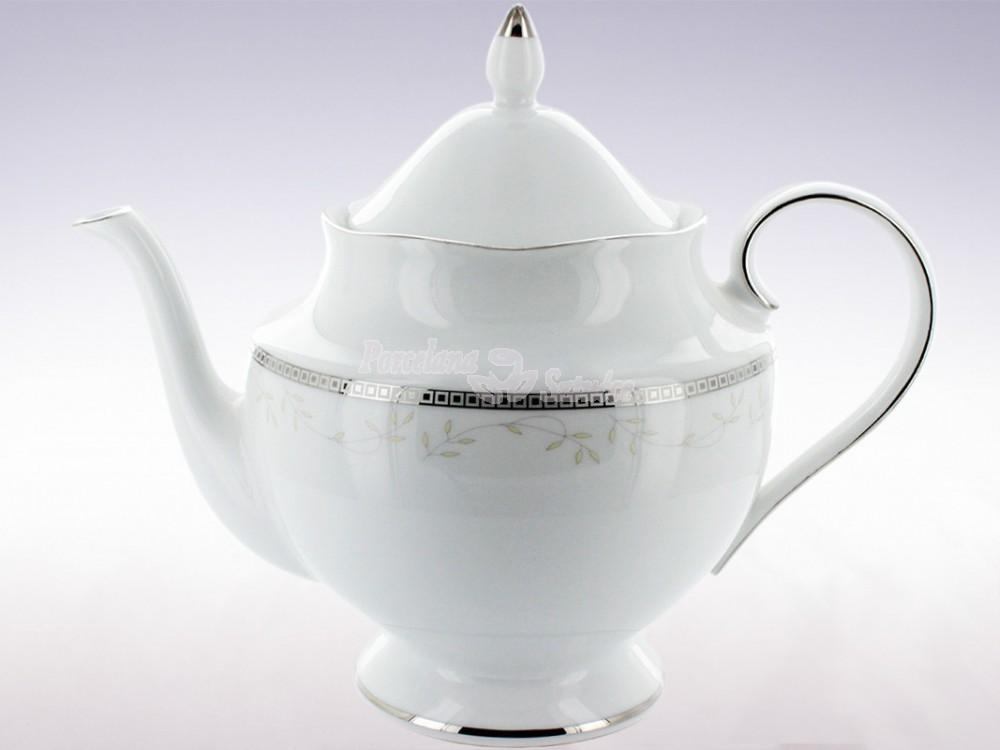Serwis do herbaty 12 osób 40 el. Ćmielów Astra Marzenie Platynowe B601