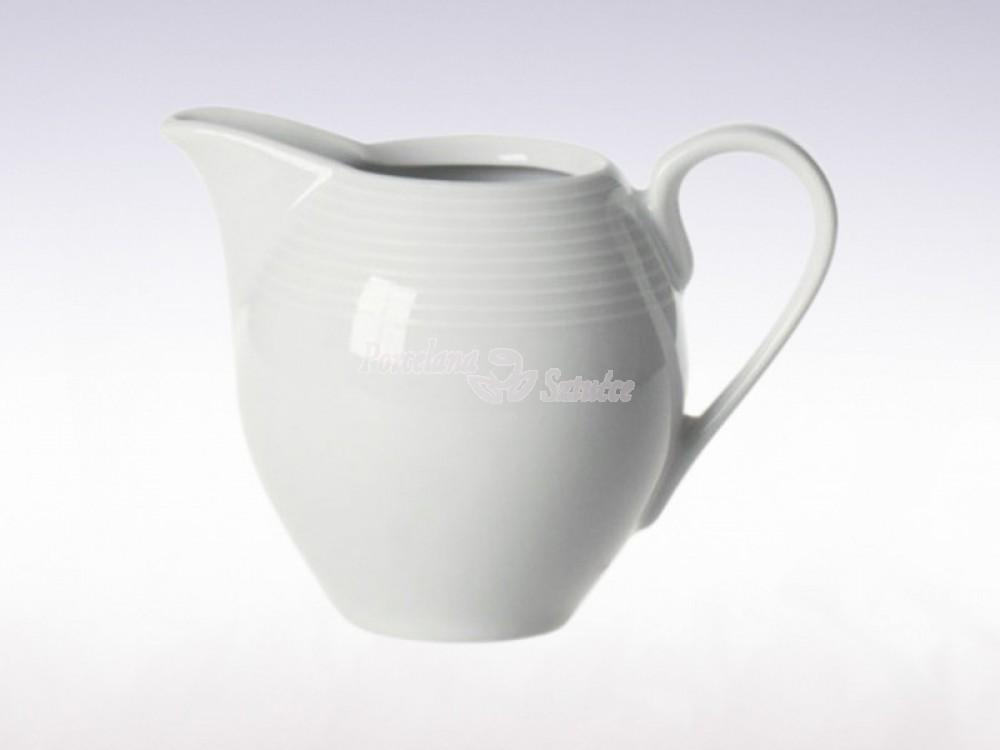 Serwis do herbaty 12 osób 41 el. 250 Chodzież Yvette Biała Linea E755