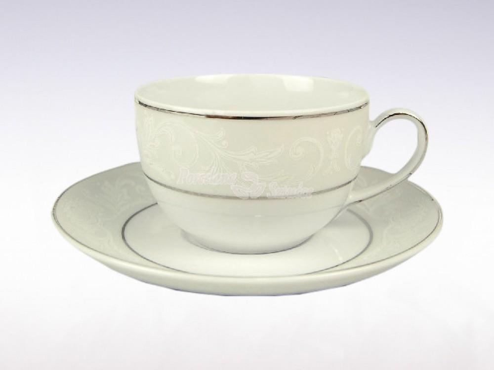 Serwis do herbaty 12 osób 41 el. Ćmielów Yvonne Edgar E373