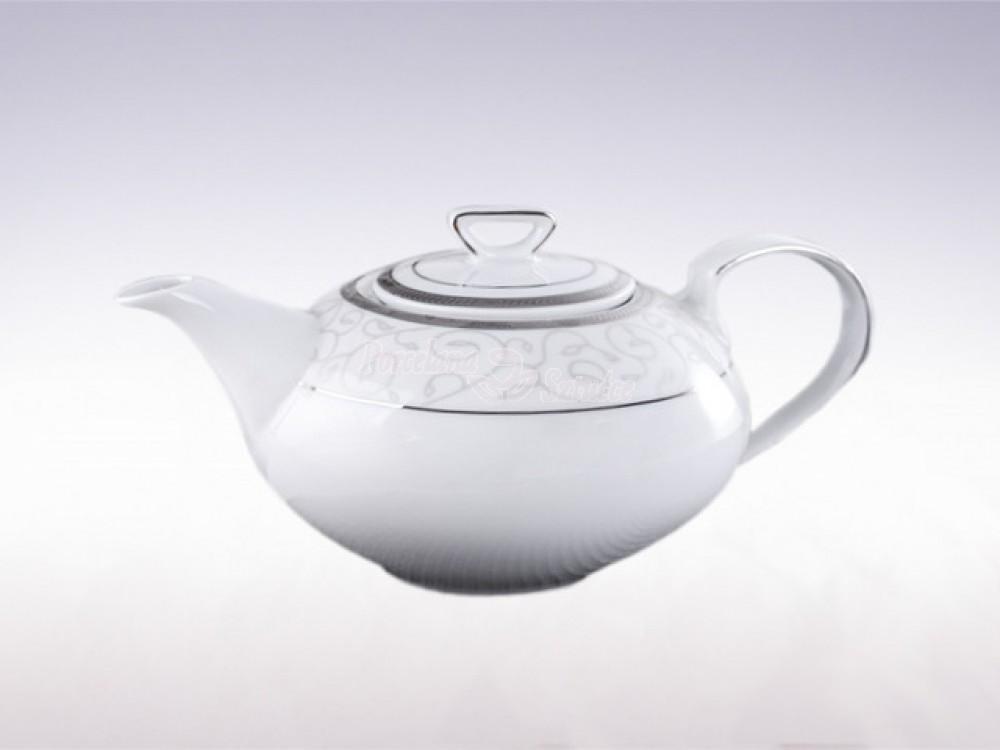 Serwis do herbaty 12 osób 41 el. Ćmielów Yvonne Kornelia E606 Wzór