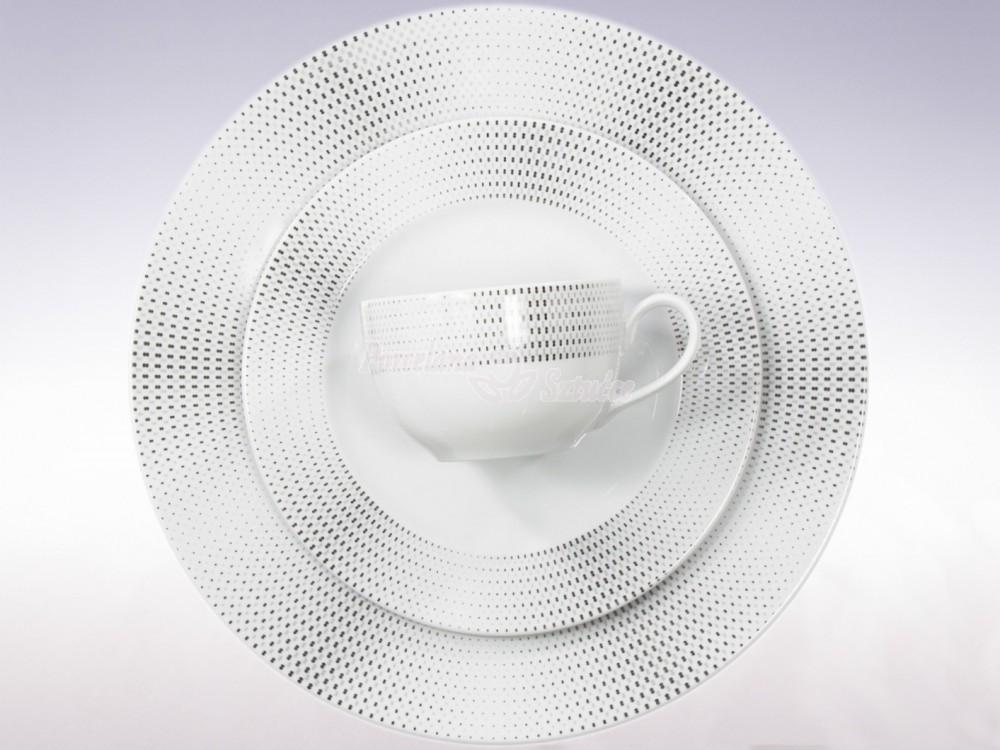 Serwis do herbaty 12 osób 41 el. Ćmielów Yvonne Ola G465