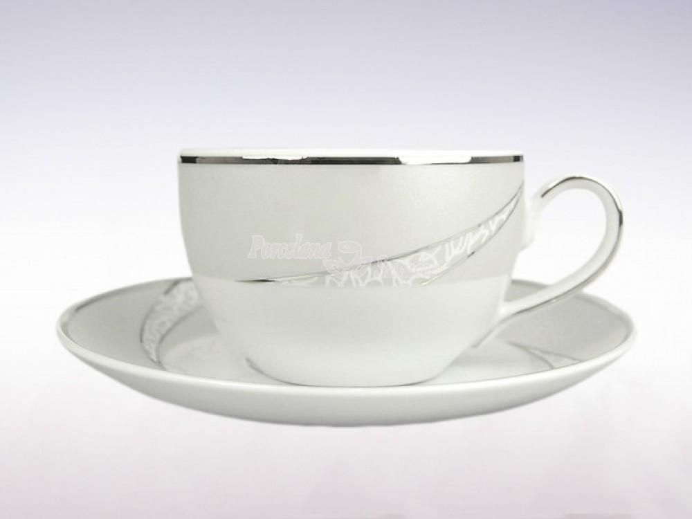 Serwis do herbaty 12 osób 41 el. Ćmielów Yvonne Tezeo E615