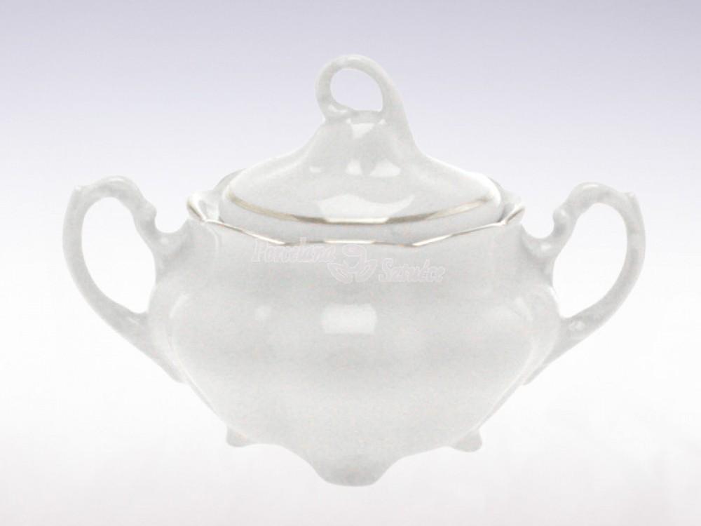 Serwis do herbaty 6 osób 20 el. 220 el. Ćmielów Bolero Platynowa Linia 3605