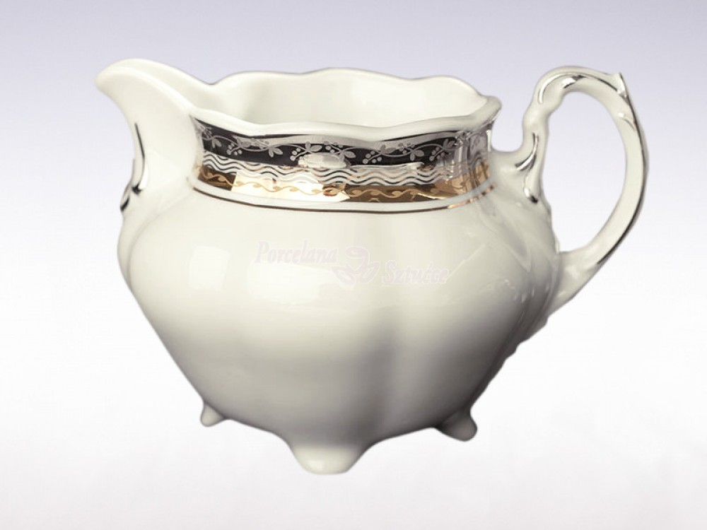 Serwis do herbaty 6 osób 20 el. 220 el. Ćmielów Bolero Princess E551