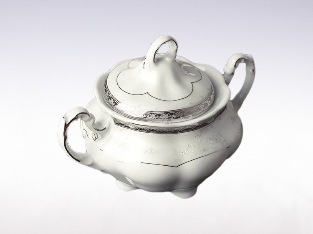 Serwis do herbaty 6 osób 20 el. 220 el. Ćmielów Bolero Vera E361