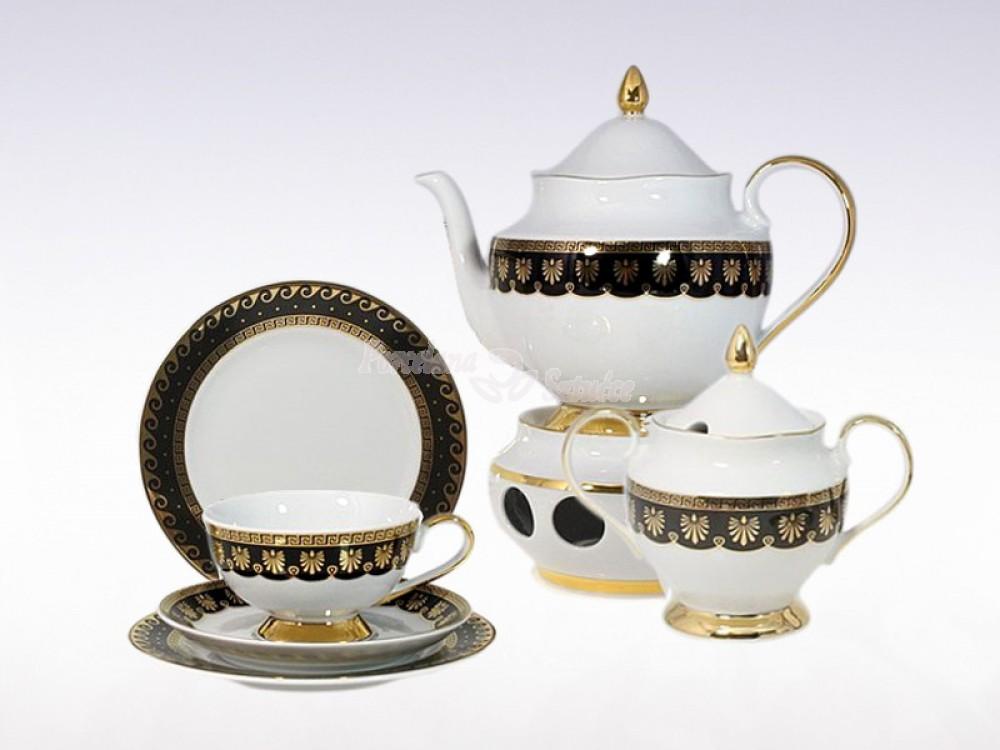 serwis do herbaty na 6 osób  Astra Ellada G339