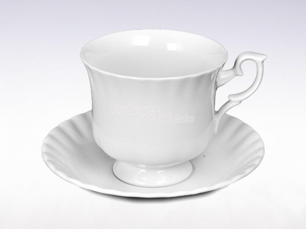 Serwis do Kawy 6 osób 12 el. Chodzież Iwona Biała C000