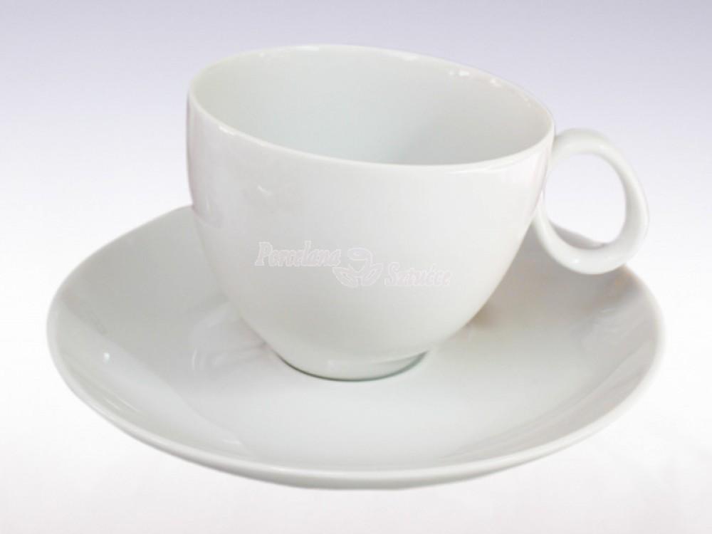 Serwis do Kawy 6 osób 12 el. Chodzież Quebec Biały C000