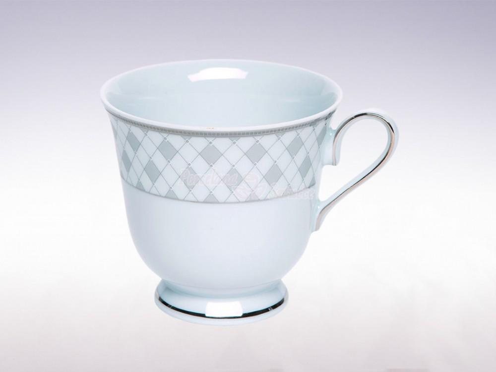 Serwis do Kawy na 6 osób Ćmielów Astra Harlequin G077