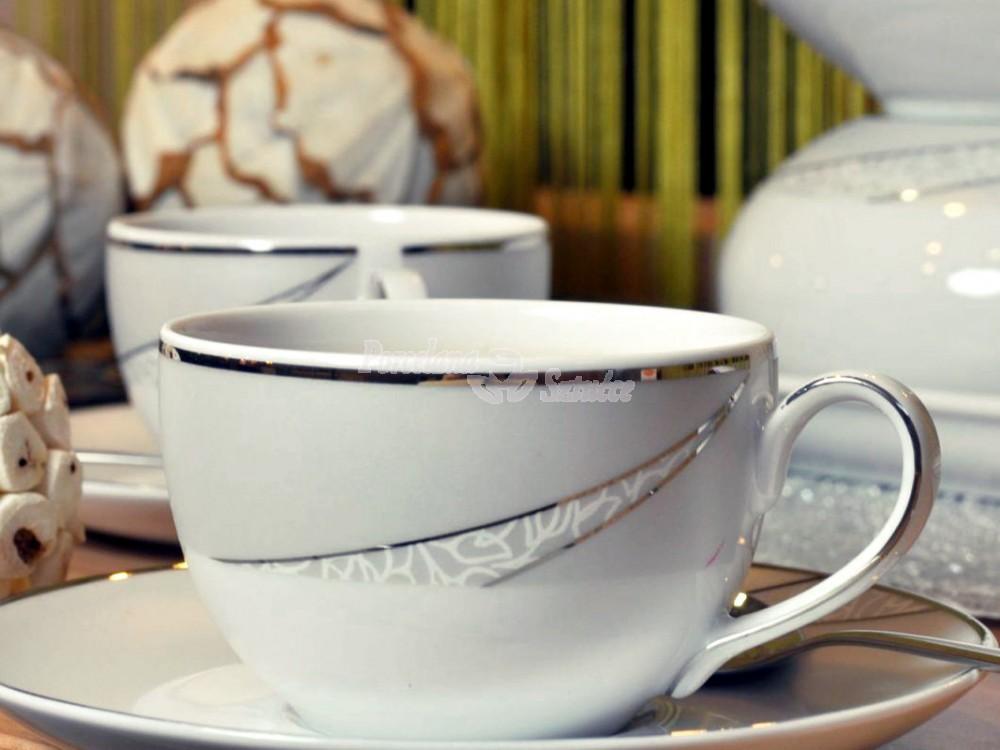 Serwis do Kawy 6 osób 20 el. Ćmielów Yvonne Tezeo E615