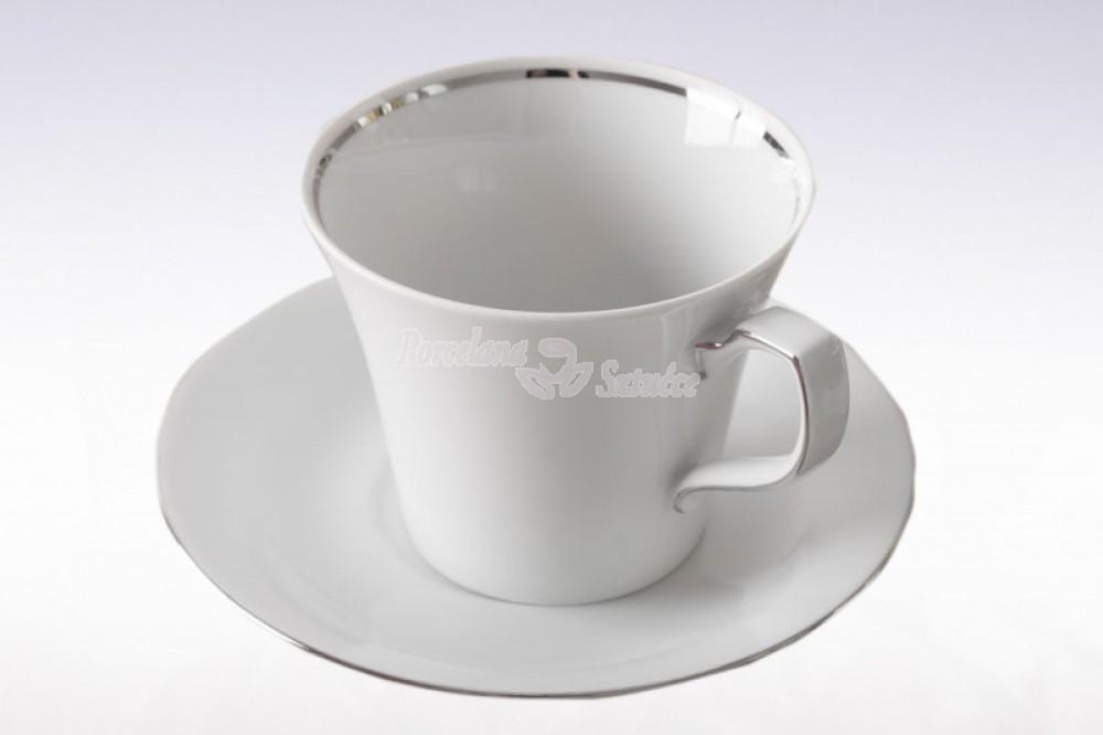 Serwis obiadowo-kawowy 6 osób 30 el. Chodzież Venus Platynowa Linia B357