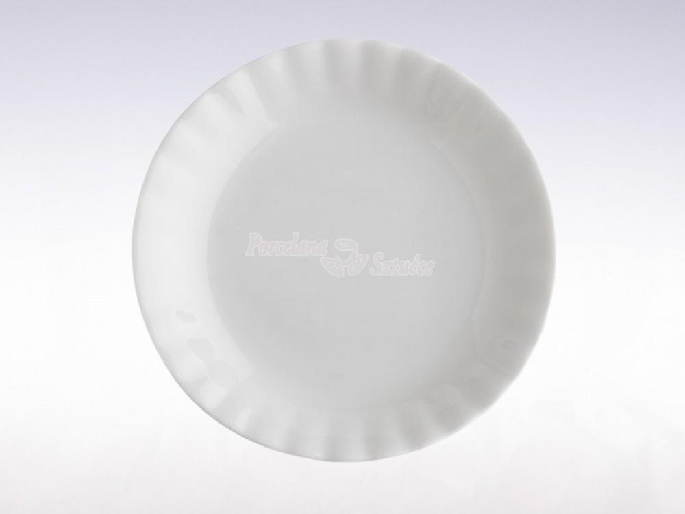 Serwis obiadowy 12 osób 44 el. Chodzież Iwona Biały C000