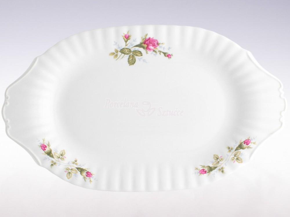 Serwis obiadowy 12 osób 44 el. Chodzież Iwona Chodzieska Róża B026