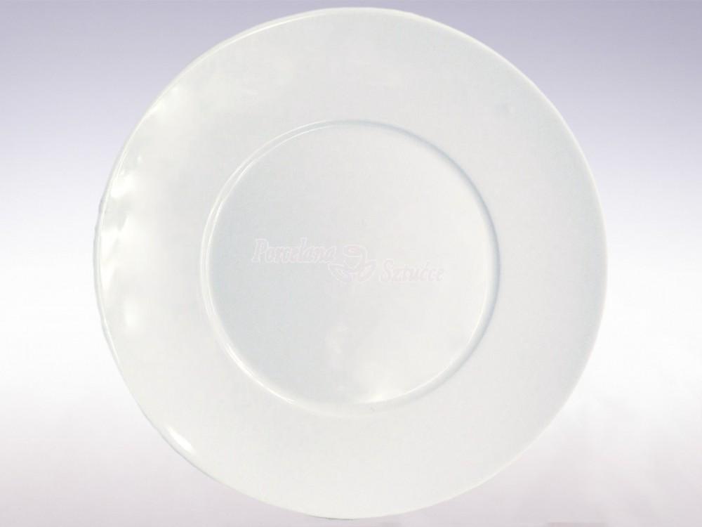 Serwis obiadowy 6 osób 18 el. Chodzież Quebec Biały C000