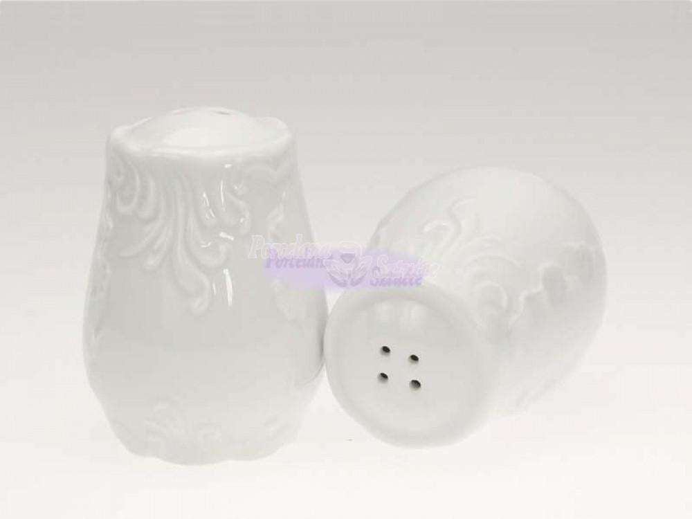 Solniczka Ćmielów Rococo Biały 0001