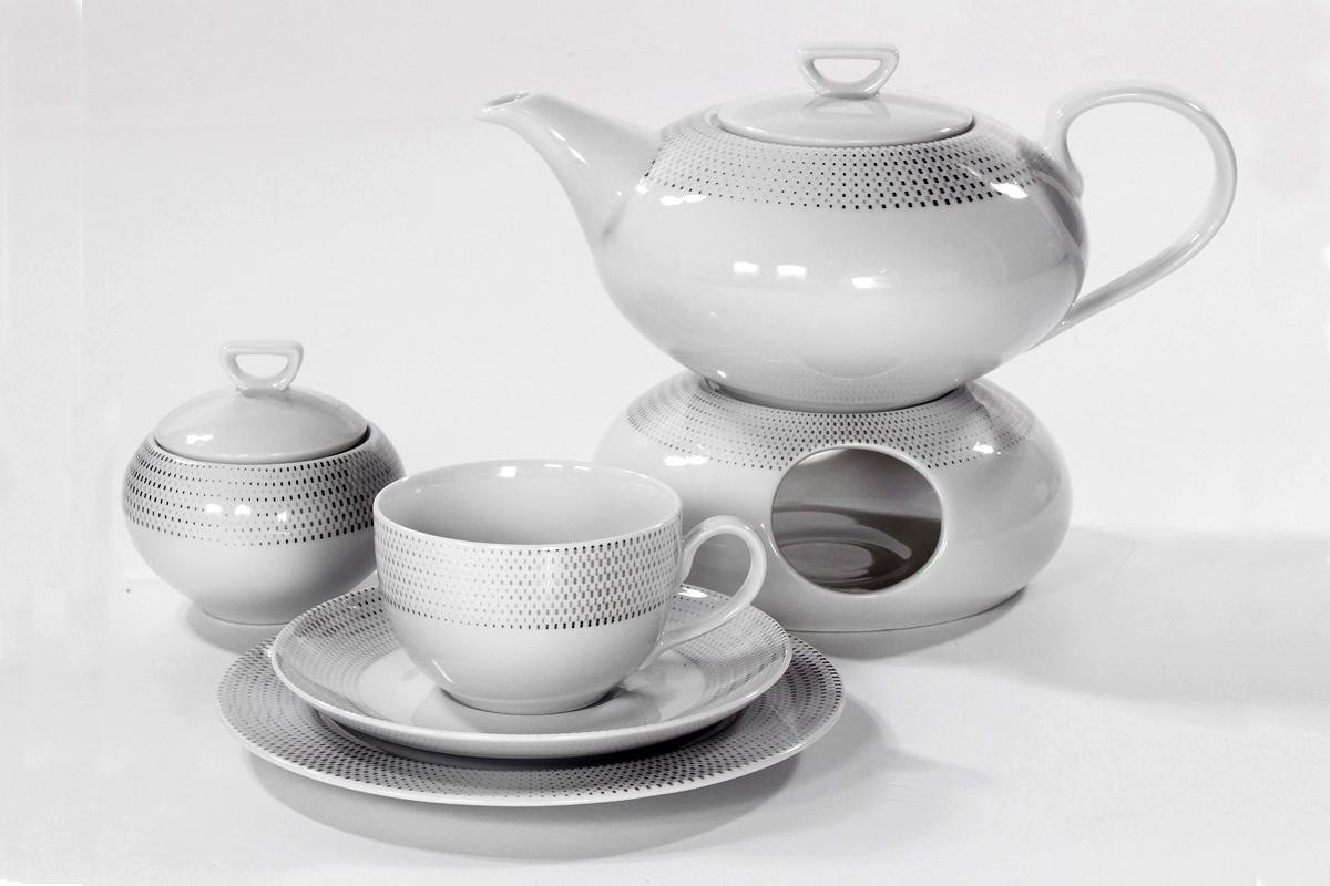 c1b5b75cd2e1c Porcelana Ćmielów - Serwis do herbaty - 12 osób - Yvonne - Ola G465