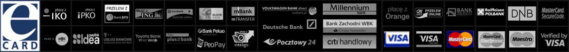 Wygodę i duży wybór metod płatności zapewnia eCard.pl