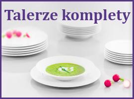talerze, komplety talerzy, zestawy talerzy